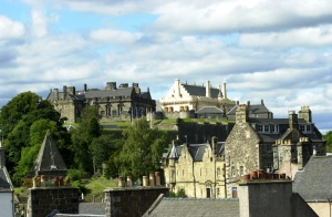 Stirling city and castle