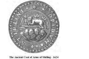 Stirling Coat of Arms 1624