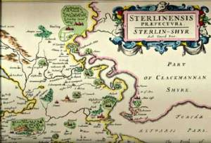 Old Stirling Map